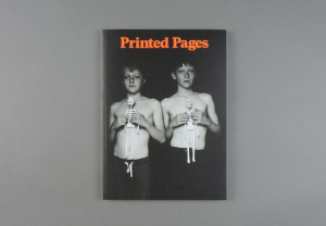 Printed Pages. A/W 2016