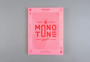 Monotone. New Single-colour Graphics