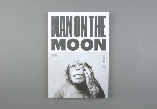 Man On The Moon # 01