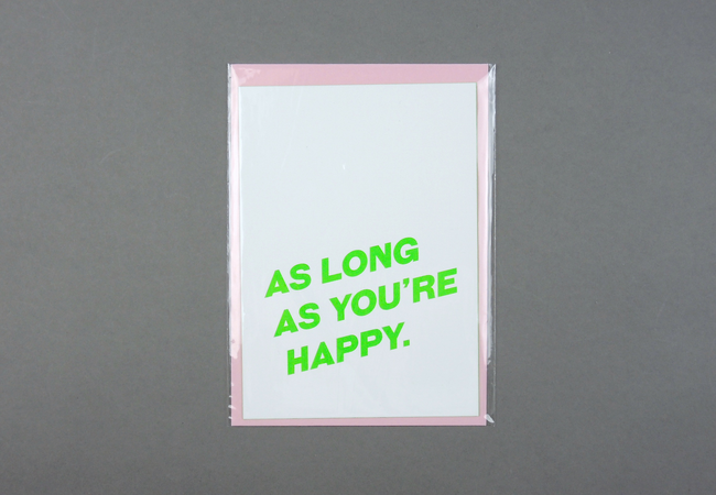 As Long As You're Happy.
