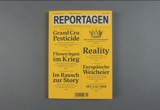 Reportagen # 19