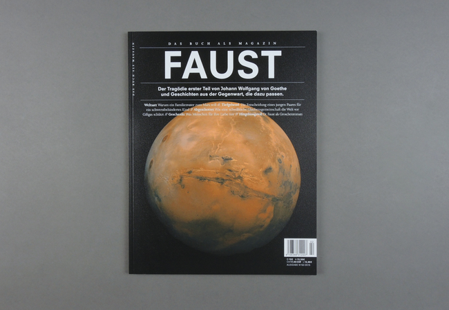 Das Buch als Magazin. Faust