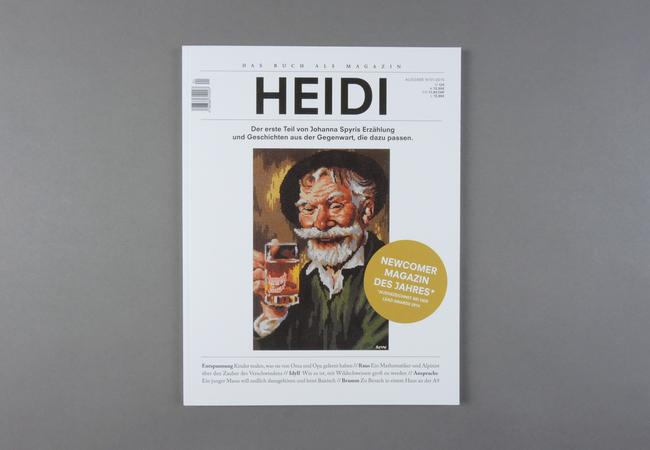 Das Buch als Magazin. Heidi
